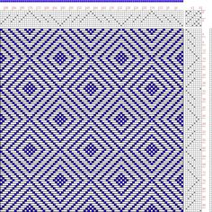 Hand Weaving Draft: Page 149, Figure 14, Donat, Franz Large Book of Textile Patterns, 8S, 8T - Handweaving.net Hand Weaving and Draft Archiv...