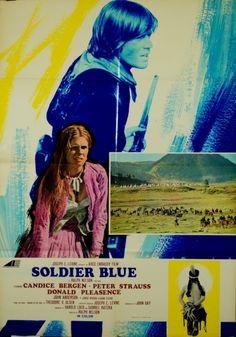 Candice Bergen Peter Strauss Soldier Blue Soldat Bleu Ralph Nelson 1970 1 Sheet | eBay