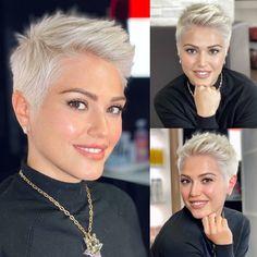 Short Sassy Haircuts, Short Choppy Hair, Short Haircut Styles, Short Grey Hair, Medium Short Hair, Short Hair With Layers, Cute Hairstyles For Short Hair, Short Hair Cuts, Shaved Hair Cuts