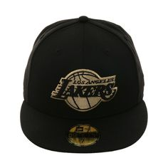 Exclusive New Era 59Fifty Los Angeles Lakers Hat - Black 3a2ae87cd61d