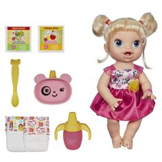 Boneca Hasbro Loira Baby Alive - Hora de Comer