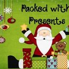 Packed with Presents Christmas Dolch Sight Word Game