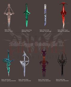 sword, Weapon, Fantasy Art, Fantasy Weapons Wallpapers HD / Desktop and Mobile Backgrounds Magia Elemental, Elemental Magic, Fantasy Dagger, Fantasy Weapons, Fantasy Kunst, Fantasy Art, Dagger Drawing, Sword Drawing, Armas Ninja