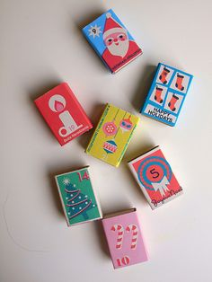 2011 Advent Boxes