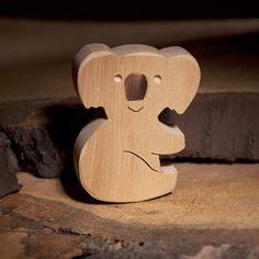 Wooden Handmade Koala Toy | DIOTOYS