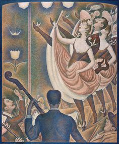Le Chahut by Georges Seurat (1889-90)