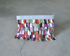 Leather clutch bag colorful leather handbag by stellachili on Etsy, €150.00