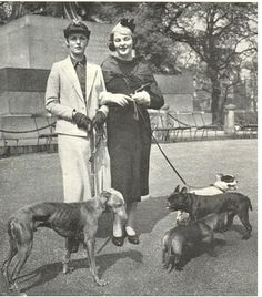 Debo with her greyhound Studley and Decca Mitford with her dogs.  Deborah Vivien Cavendish, Dowager Duchess of Devonshire DCVO, née The Hon. Deborah Freeman-Mitford, is the youngest of the six noted Mitford sisters