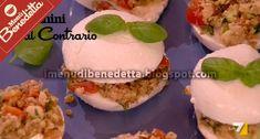 I Menu di Benedetta   Molto Bene: Panini di Mozzarella al Contrario