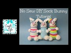 DIY Sock Bunny Tutorial - Craft Weekly