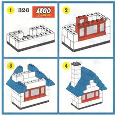 Will need to link to http://www.peeron.com/scans/ to find scans of Lego instructions dating back to 1955! You'll never run out of ideas!
