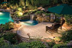Relax... garden pool