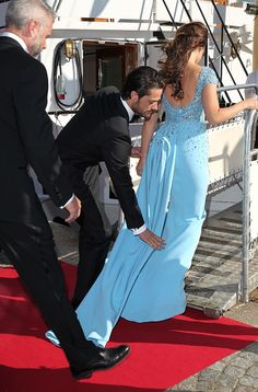 Prince Carl Philip of Sweden and Sofia Hellqvist arrive for their private Pre-Wedding Dinner on June 12, 2015 in Stockholm, Sweden