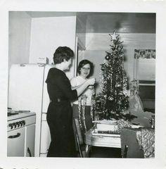 Christmas-1950's...