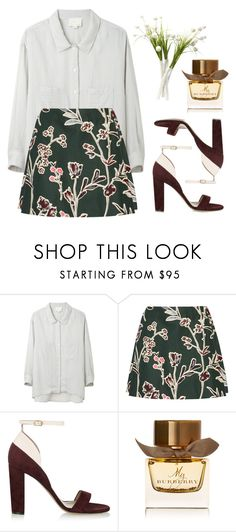 """Don't fear moving forward slowly. Fear standing still."" by matea0605 ❤ liked on Polyvore featuring Band of Outsiders, Marni, Chloé and Burberry"