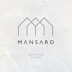 This may be my favorite logo in this board I love the ALL CAPS with the thin lines and the minimal, architectural design above is part of Architect logo, Design studio logo, Architecture logo, Minima - Corporate Design, Branding Design, Interior Design Logos, Logo Design Trends, Logo Inspiration, Studio Logo, Logo Design Studio, Creative Logo, Behance Logo