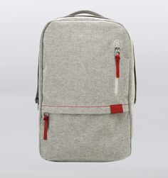 "Incase Terra Campus 15"" Backpack - Cream/Fiery Red - Rushfaster.com.au Australia"