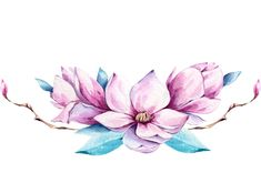 Фото, автор lilia-2112 на Яндекс.Фотках Watercolor Drawing, Watercolor Flowers, Watercolor Paintings, Art Floral, Poster Background Design, Dress Painting, Illustration Blume, Cross Stitch Animals, Floral Illustrations