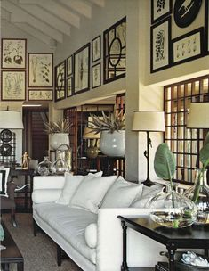 British & French Colonial Style Rooms - for the living room British Colonial Decor, French Colonial, Colonial Image, Living Room Decor, Living Spaces, Dining Room, Home Interior, Interior Design, French Country Living Room