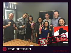 Awesome friend adventure at Escapedom