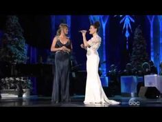 """Let It Go"" sung by Idina Menzel & Jennifer Nettles from CMA Country Christmas 2014 **Skip to 2:34 if you just want the song, & not the banter**"