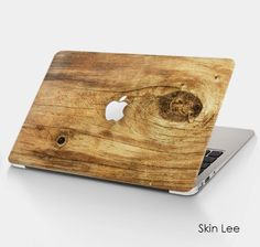 Laptop Stickers WOOD Laptop Skin Laptop Decal Laptop Cover