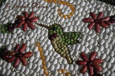 Dry Vegetable Mosaics