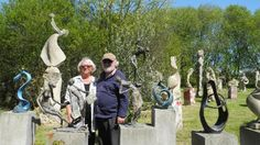 À La Fresnais, le jardin des sculptures a rouvert. Info - Rennes.maville.com