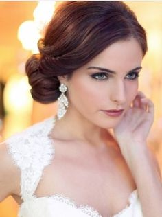 really sweet and romantic updo hairstyle for women with every length of hair