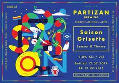 Partizan Brewing - Saison Grisette G000-099