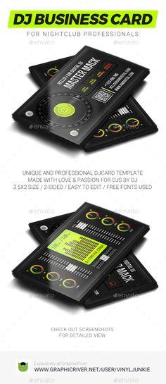 18 dj business cards free psd eps ai indesign word pdf digital dj business card colourmoves