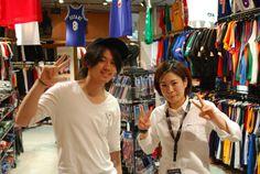 【大阪店】2014.06.02 お仕事のお休みに来て頂きました!!NBAの話つきませんでしたね、、、楽しかったです^^またいつでも、来てくださいね☆★