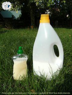 lessive et liquide vaisselle faits maison ! écologique et économique
