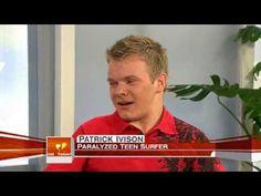 Patrick Ivison, quadriplegic surfer, interview on the Today Show