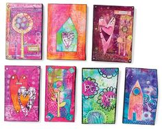 More colorful collages from Jodi Ohl. - Cloth Paper Scissors
