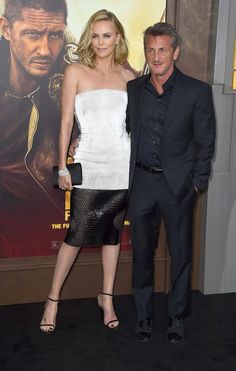 Valentino Garavani, Patti Smith, and more celebrate the NYCB's spring season and Charlize Theron, Zoe Kravitz, and more attend the Mad Max premiere in LA. Sean Penn, Charlize Theron Photos, Mad Max Fury Road, City Ballet, In Hollywood, Hollywood California, Zoe Kravitz, Warner Bros, Cute Couples