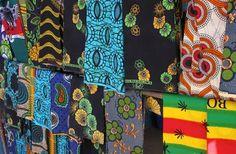 Colourful african cloth – Malawi
