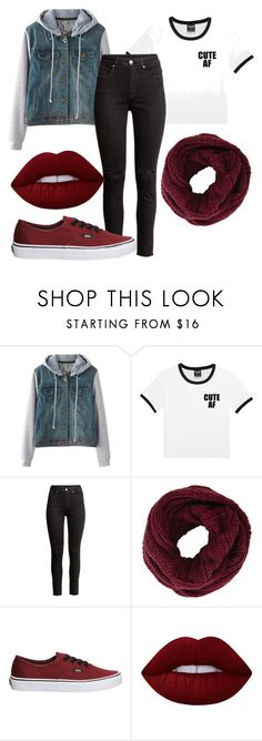 """""""Untitled #479"""" by vickyagh on Polyvore featuring H&M, BCBGMAXAZRIA, Vans and Lime Crime"""