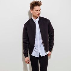 Motorcycle Diaries Black Bomber Jacket | Dear Deer | Wolf & Badger