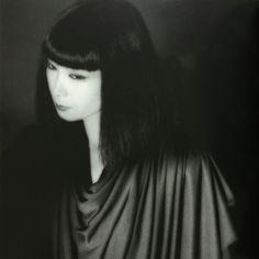 Sayoko Yamaguchi 山口小夜子 photographed by Noriaki Yokosuka (it is unknown in the production year)