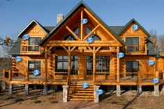 log home pictures | LogHomeMart.com - The online resource for log homes and log cabins
