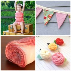Gonna make some banners like this (out of cloth from Crafts Direct) to hang from Elise's ceiling but in gray, white, lavender & pink to match her nursery <3