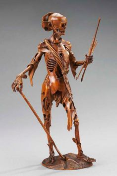 Death Triumphant, made in Germany, c.1670