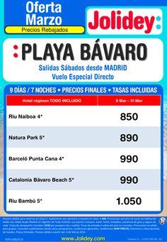 Oferta Marzo a Playa Bávaro desde 850 €. Salidas del 8 al 31 Marzo ultimo minuto - http://zocotours.com/oferta-marzo-a-playa-bavaro-desde-850-e-salidas-del-8-al-31-marzo-ultimo-minuto/