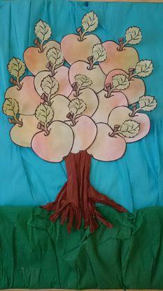 Jabłoń Apple tree art activities for kids