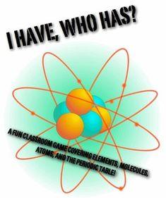 Un juego económico con el que los alumnos pueden pasar un buen rato repasando conceptos del átomo y de los elementos de la tabla periódica. #quimica #3ESO #juego #atomo #elemento_compuesto