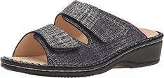 Finn Comfort Women's Jamaika-S Argento Doyle Sandal *** To view further for this item, visit the image link. (This is an affiliate link) Women's Mules & Clogs, Image Link, Sandals, Amazon, Check, Leather, Stuff To Buy, Shoes, Shoes Sandals