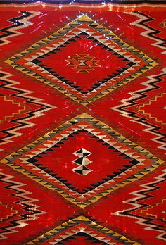 Antique Navajo Rug by mj_picks, via Flickr