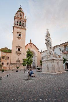 Iglesia Santa María in Écija by Francisco Martin - where I got married