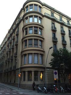 Corner Building Barcelona, Corner, Street View, Building, Buildings, Barcelona Spain, Construction